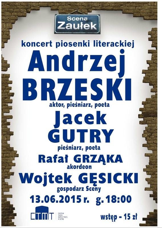 Andrzej Brzeski i Jacek Gutry - Scena Zaułek